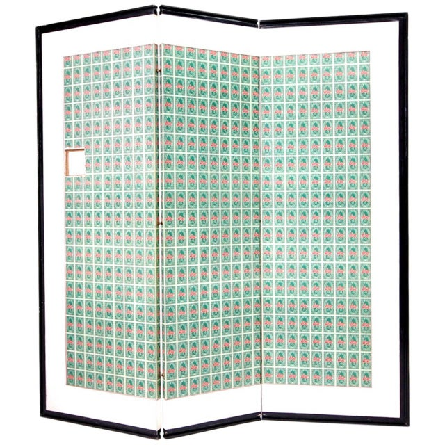 Andy Warhol S&h Green Stamps Folding Screen For Sale - Image 12 of 12
