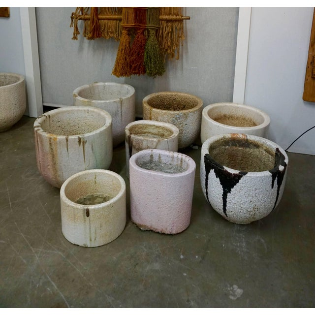 Ceramic and Glass Crucible or Planter For Sale - Image 4 of 8