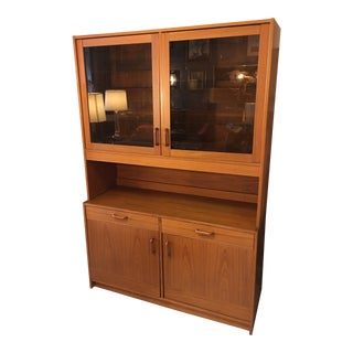 1970s Danish Modern Clausen & Son Teak Cupboard or Cabinet For Sale