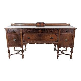 Vintage Ottawa Furniture Company Solid Wood Sideboard For Sale