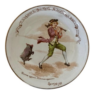 Antique 1920s Royal Doulton Nursery Rhyme Bowl For Sale