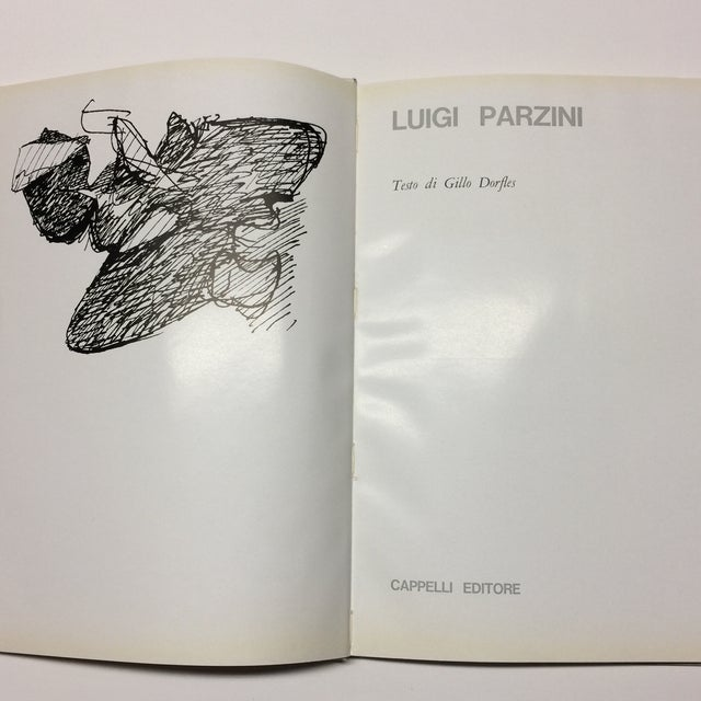 Abstract 1963 Luigi Parzini Book by Gillo Dorfles For Sale - Image 3 of 10