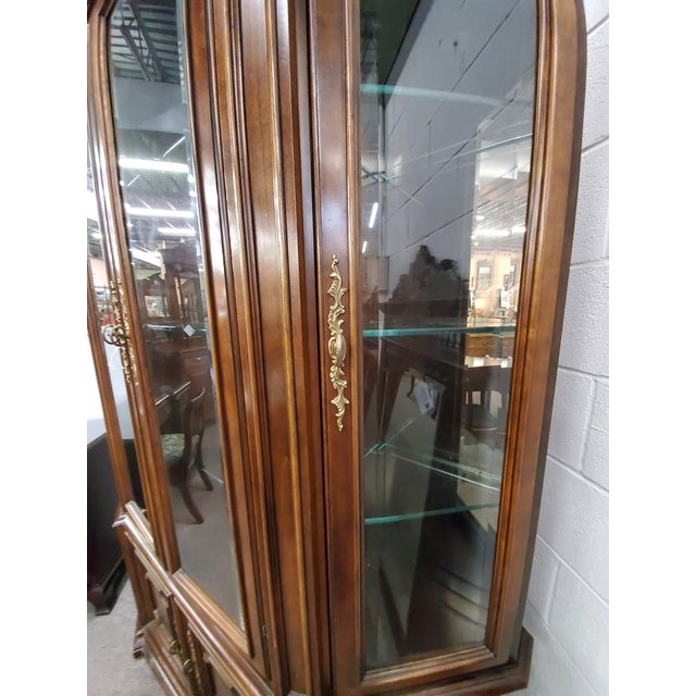 Vintage China Cabinet For Sale In Houston - Image 6 of 13