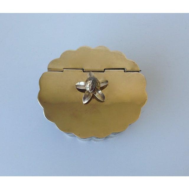 Brass English Moorish-Style Tea Container - Image 9 of 11