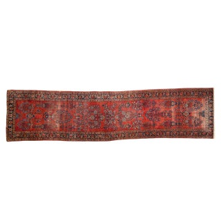 "Vintage Mohajeran Sarouk Rug Runner - 2'4"" X 9'5"" For Sale"