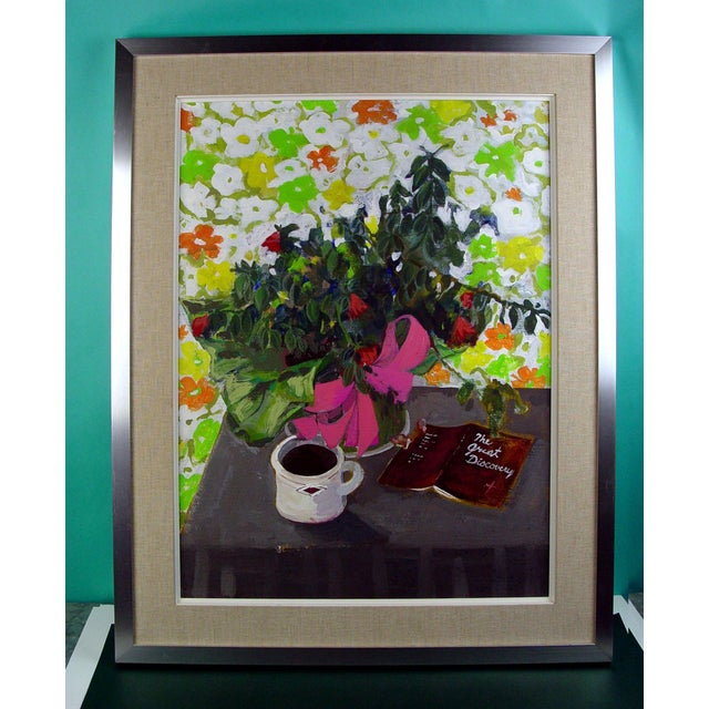 Contemporary Morning Coffee Still Life Painting For Sale - Image 3 of 3