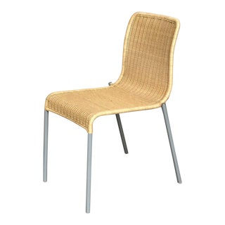 Modern Miki Astori for Driade 'Alchemilla' Wicker Stacking Chair For Sale