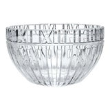 """Image of Vintage 1980s Signed Iconic Tiffany & Company Polished Crystal """"Atlas"""" Roman Numeral Bowl For Sale"""