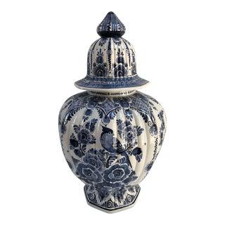 Vintage Delft Ginger Jar For Sale