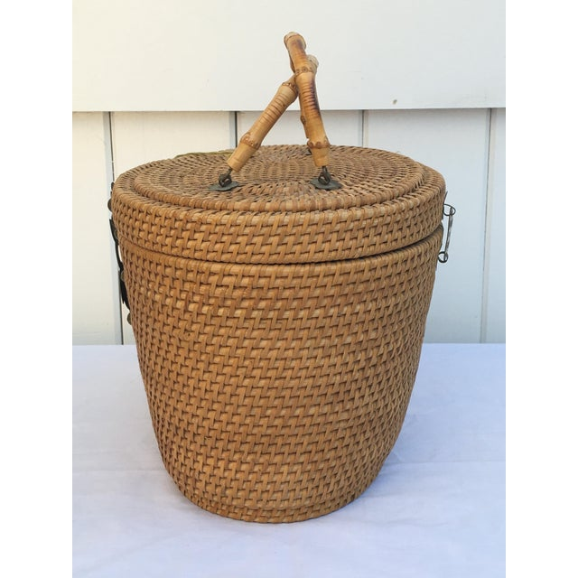 1950s Woven Basket Purse - Image 6 of 8