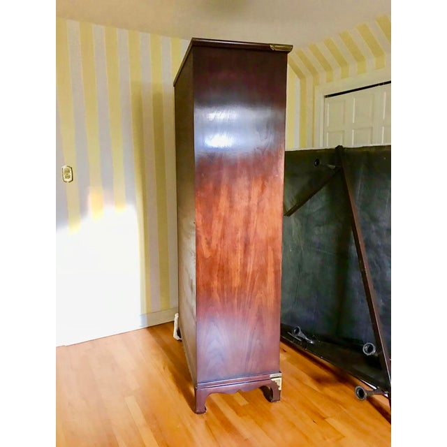 Henredon Tansu Collection Armoire Wardrobe For Sale - Image 12 of 13