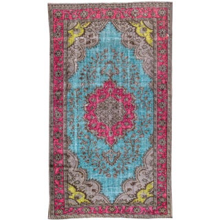 "Apadana Turkish Revival Overdyed Rug - 5'8"" X 10'"