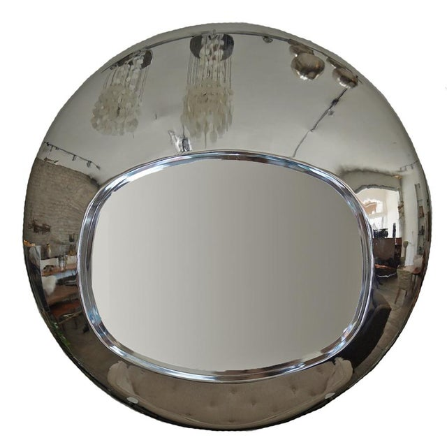 1970s Chrome Orb Mirror For Sale In Los Angeles - Image 6 of 6