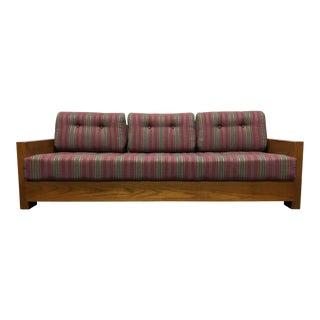 Mid Century Modern MCM Wooden Frame Sofa