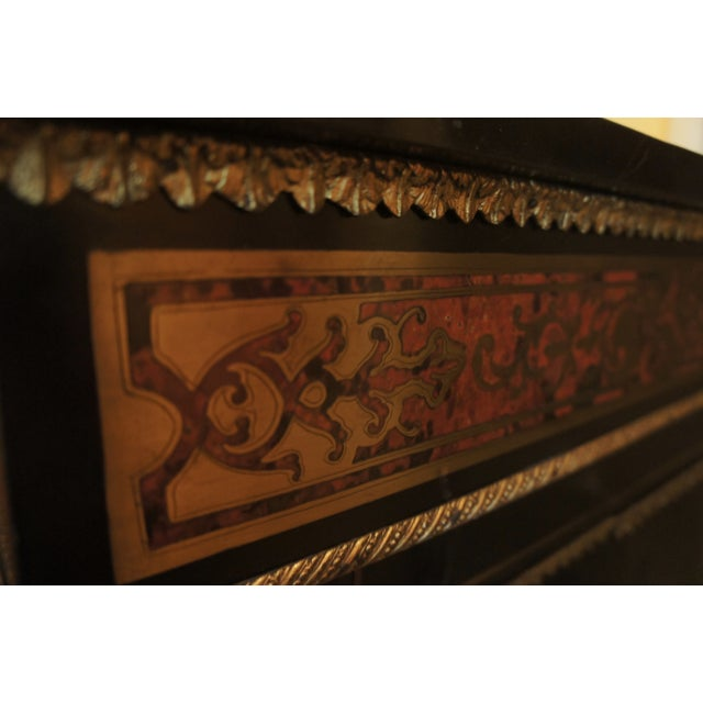Authentic Meuble Boulle Napoléon III Cabinet - Image 5 of 9