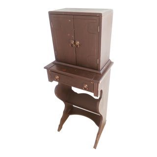 Early 20th Century American Telephone Stand For Sale