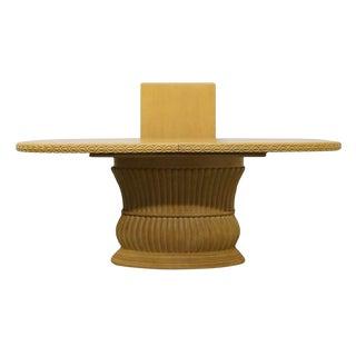"Century Furniture Contemporary Jay Spectre / Sobota Era 101"" Pedestal Dining Table For Sale"