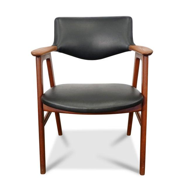 Mid Century Modern Erik Kirkegaard Desk Chair - Fjellerup For Sale In New York - Image 6 of 6