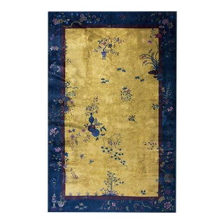 """Antique Chinese Art Deco Rug 10'0"""" X 15'5"""" For Sale"""