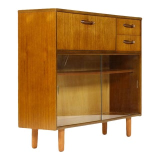 Danish Modern Teak Bookcase For Sale