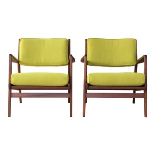 Jens Risom Armchairs, U.S.A, 1960s - a Pair For Sale