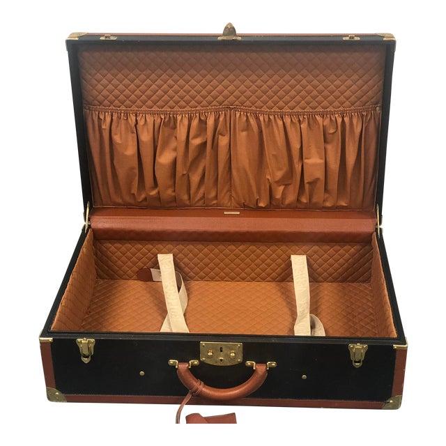 Bottega Veneta Vintage Coated Canvas Hard Suitcase Luggage For Sale