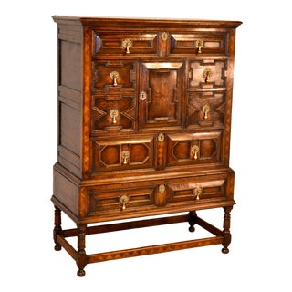 Chest on Stand, Circa 1900 For Sale