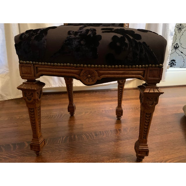 Brown Renaissance Revival Dining Chairs Set of 12 For Sale - Image 8 of 13