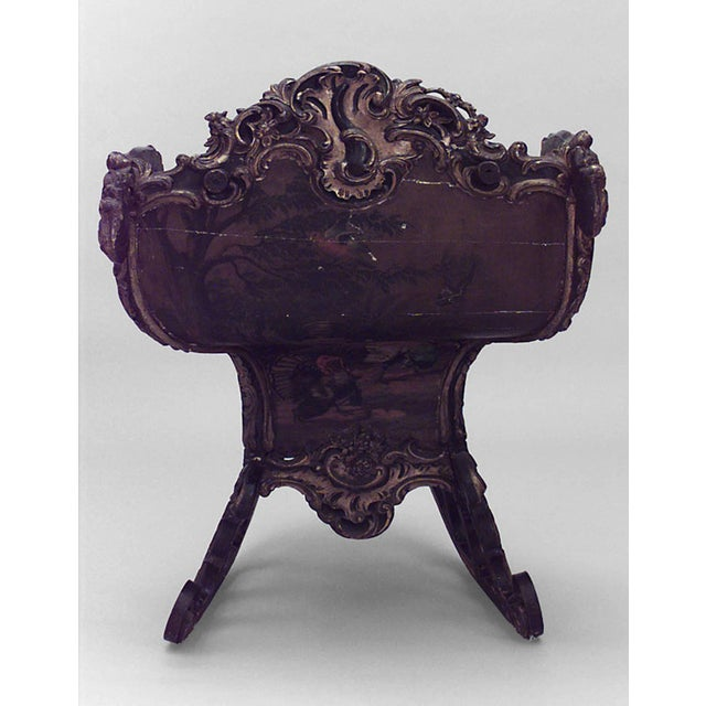 Ornate Turn of the 19th C. Russian Sleigh For Sale - Image 4 of 6