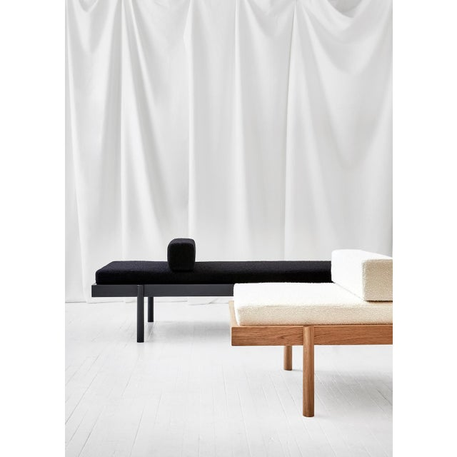 Early 21st Century Wc2 Daybed by Ash Nyc in Black Oak For Sale - Image 5 of 7