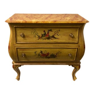 Italian Chinoiserie Chest of Drawers For Sale
