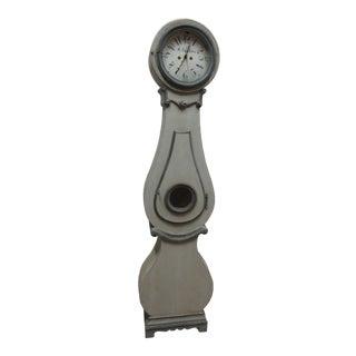 19th Century Contemporary Scandinavian Gray Clock - 24 For Sale