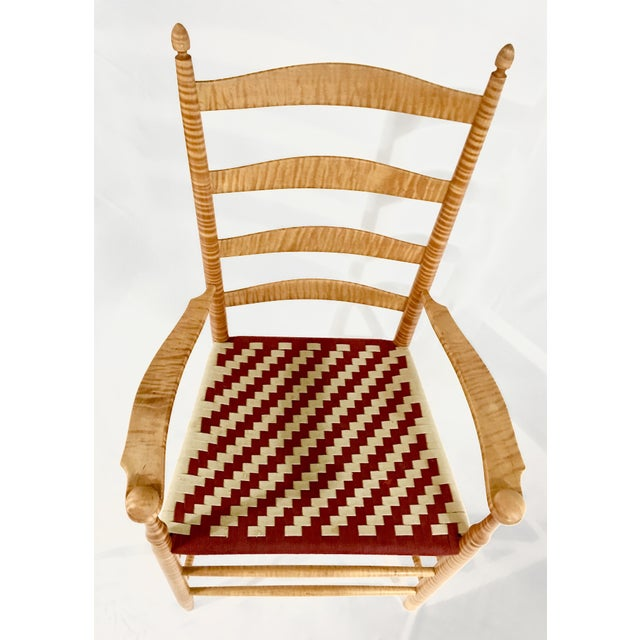 Reproduction Shaker Arm Chair - Image 3 of 8