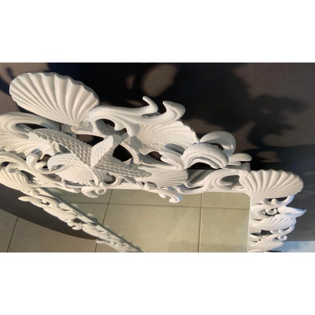 Sea Shell Iron Mirror For Sale - Image 10 of 13