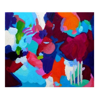 Valerie Erichsen Thomson Original   Masquerade   Abstract Painting For Sale