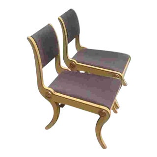 Pr. Of Early 19th C. Amer. Chairs For Sale