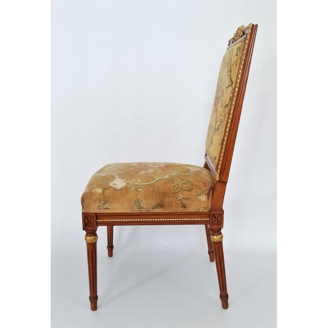 1960s 1960s Vintage Louis XVI French Directoire Style Chair For Sale - Image 5 of 13