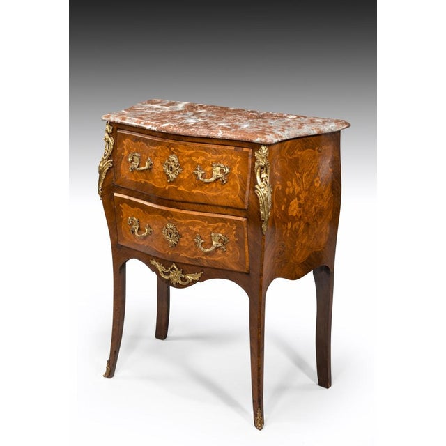 Mid 19th Century A 19th Century Inlaid Commode, Circa 1850 For Sale - Image 5 of 8