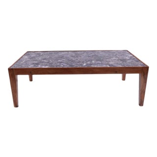 Modern Amethyst Inlay Coffee Table For Sale