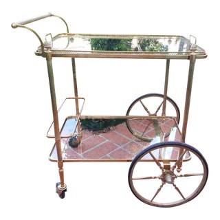 18th C Maison Bagues Serving Cart For Sale