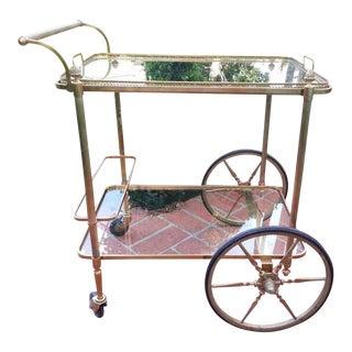 18th C Maison Bagues Serving Cart For Sale