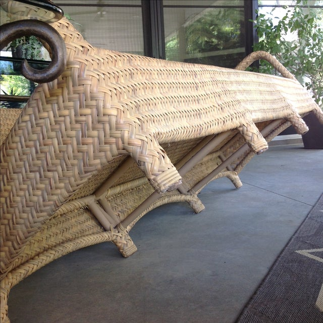Brown Jordan Outdoor Patio Sofa - Image 7 of 10