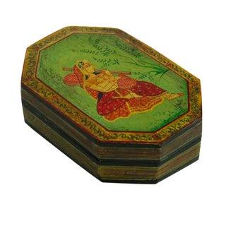 Devak Mughal Painted Box For Sale