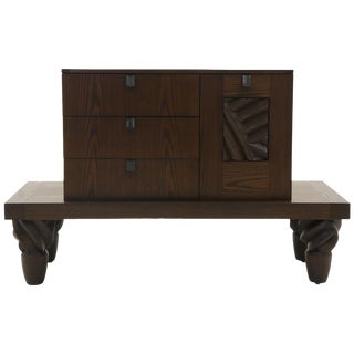 Samba Cabinet by Wendell Castle, Late 20th Century, Signed Wc For Sale