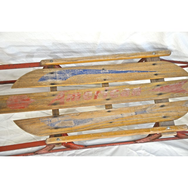 Cottage American Runner Sled For Sale - Image 3 of 6