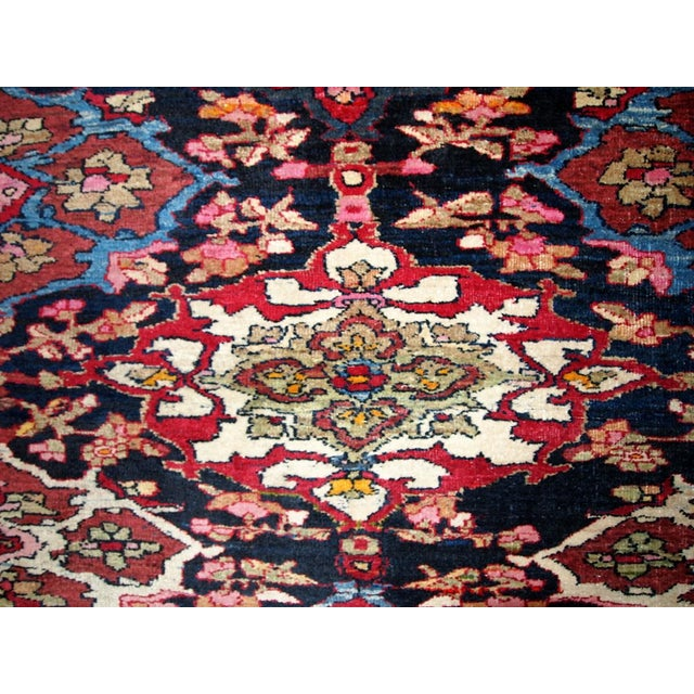 Antique Persian Isfahan Rug - 4′3″ × 6′ - Image 7 of 7