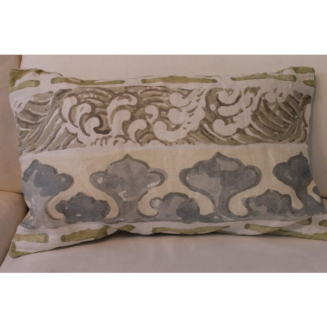 Jim Thompson Enter the Dragons Fabric Pillows - A Pair For Sale - Image 4 of 5