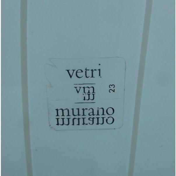 Vintage Italian Biomorphic Murano Vetri Glass Bubble Lamps - A Pair For Sale In Miami - Image 6 of 9