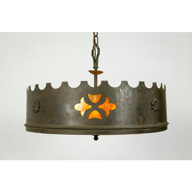 Mica Medieval Revival Chandelier - Image 2 of 11