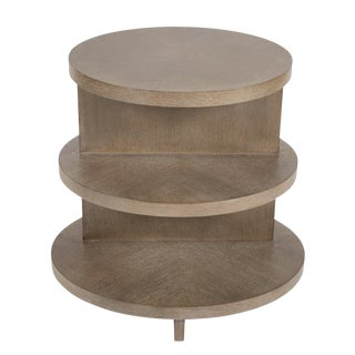 Contemporary Oval Tiered Table by Thomasville Collections For Sale
